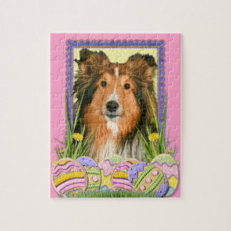 Easter Egg Cookies - Sheltie Jigsaw Puzzles