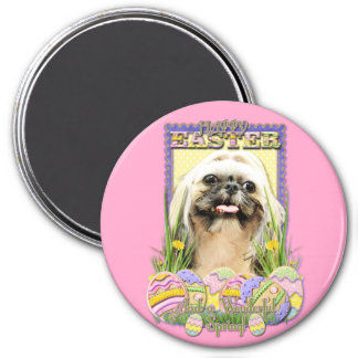 Easter Egg Cookies - Shih Tzu - Opal Magnet