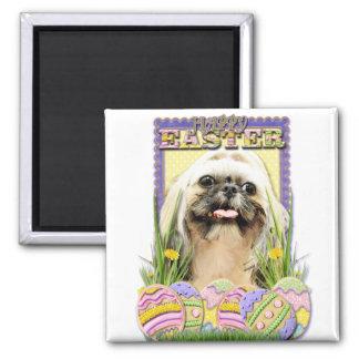 Easter Egg Cookies - Shih Tzu - Opal Refrigerator Magnets