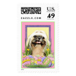 Easter Egg Cookies - Shih Tzu - Opal Postage Stamps