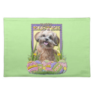 Easter Egg Cookies - ShihPoo Cloth Placemat