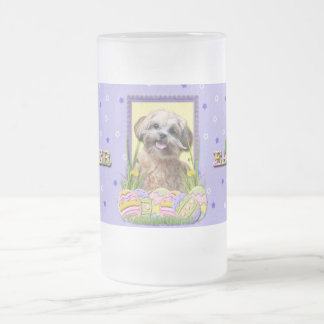 Easter Egg Cookies - ShihPoo Frosted Glass Beer Mug