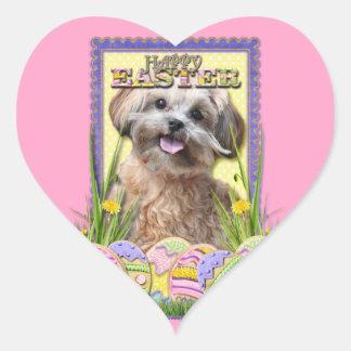 Easter Egg Cookies - ShihPoo Heart Sticker