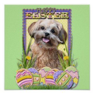 Easter Egg Cookies - ShihPoo Posters