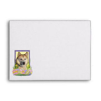 Easter Egg Cookies - Siberian Husky Copper Envelopes