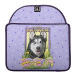 Easter Egg Cookies - Siberian Husky Sleeve For MacBooks