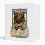 Easter Egg Cookies - Vallhund 3 Ring Binder