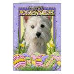Easter Egg Cookies - West Highland Terrier Cards