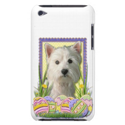 Easter Egg Cookies - West Highland Terrier iPod Case-Mate Case