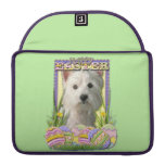 Easter Egg Cookies - West Highland Terrier Sleeve For MacBooks