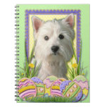 Easter Egg Cookies - West Highland Terrier Note Book