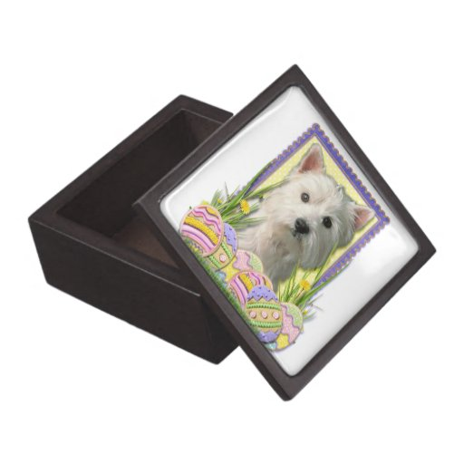 Easter Egg Cookies - West Highland Terrier Premium Gift Box