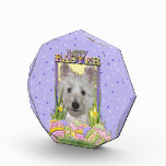 Easter Egg Cookies - West Highland Terrier - Tank Acrylic Award