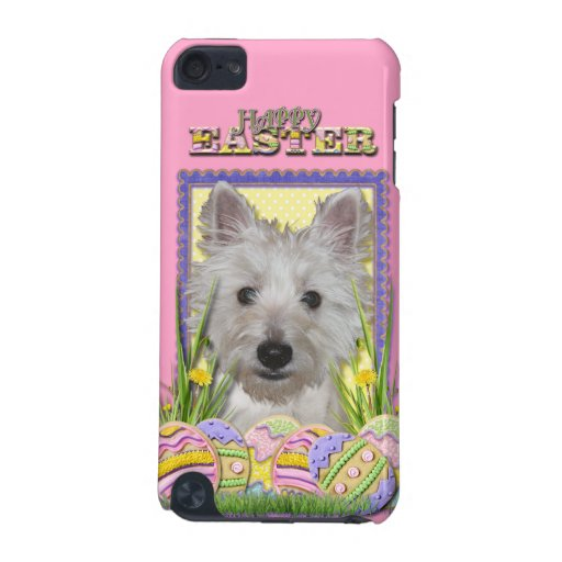 Easter Egg Cookies - West Highland Terrier - Tank iPod Touch 5G Case