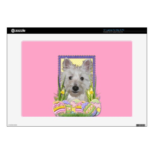 Easter Egg Cookies - West Highland Terrier - Tank Laptop Decals