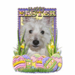 Easter Egg Cookies - West Highland Terrier - Tank Photo Cut Out