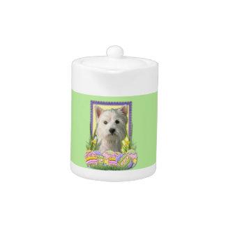 Easter Egg Cookies - West Highland Terrier Teapot