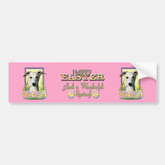 Easter Egg Cookies - Whippet Bumper Sticker