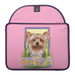 Easter Egg Cookies - Yorkshire Terrier Sleeve For MacBook Pro