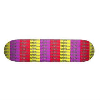 Easter Egg CROC Skateboard