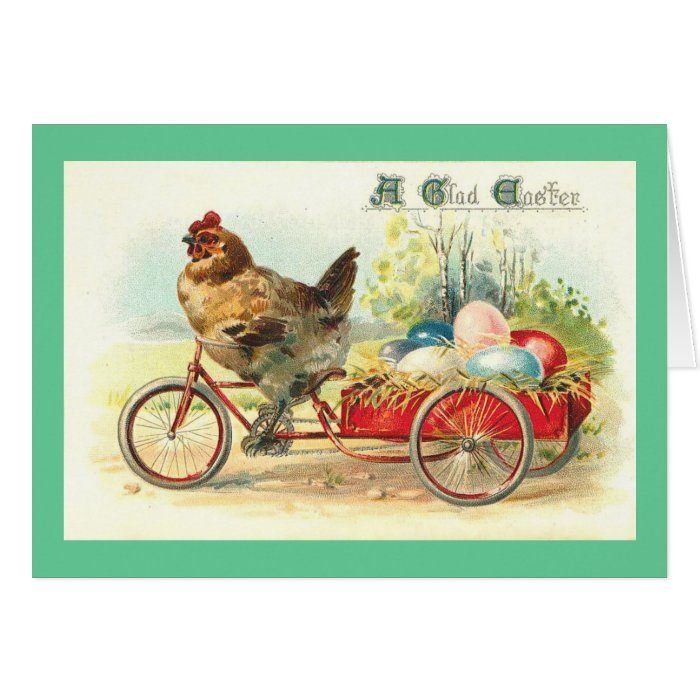 Easter Egg delivery service Card