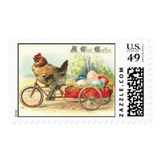 Easter Egg delivery service Postage Stamp