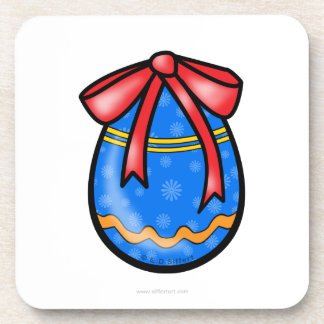 Easter egg drink coaster