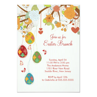 Easter Egg Easter Brunch Dinner Party Invitation