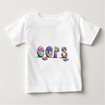 Easter Egg Egg Coloring - OOPS Baby T-Shirt