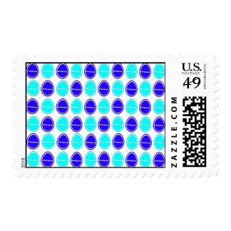 Easter Egg Egg-stra Cards (Blue) Stamp