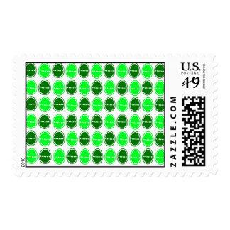 Easter Egg Egg-stra Cards (Green) Postage Stamps