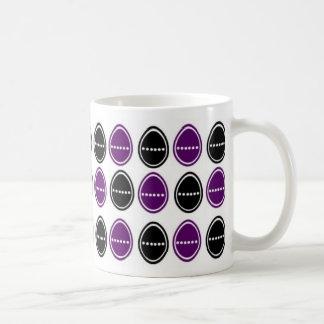 Easter Egg Egg-stra Mug  (Purple & Black)