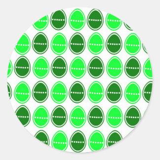 Easter Egg Egg-stra Sticker (Green)