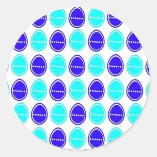 Easter Egg Egg-stra Stickers (Blue)