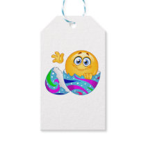 Easter egg Emoji Gift Tags