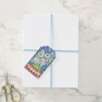 EASTER EGG FAIRY, RABBIT GIFT TAGS SET