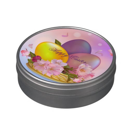 Every Occasion Basket Dunmore Candy Kitchen: Easter Egg Flower Basket Jelly Belly Tin