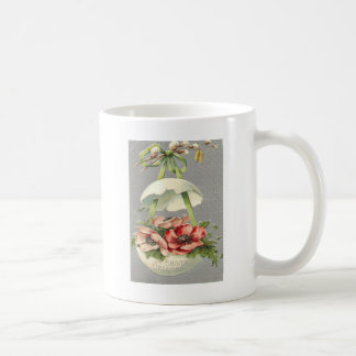 Easter Egg Flower Green Bow Coffee Mug