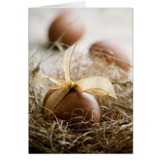 Easter egg folded card