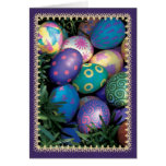 Easter Egg Holiday Greeting Card