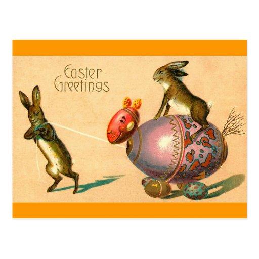 Easter Egg Horse Postcards