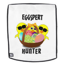 Easter Egg Hun Eggspert Hunter Kids Boys Girls Backpack