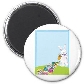Easter Egg Hunt 2 Inch Round Magnet