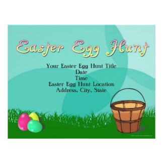 Easter Egg Hunt, 3 Eggs with Basket Flyer