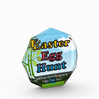 Easter Egg Hunt Acrylic Award