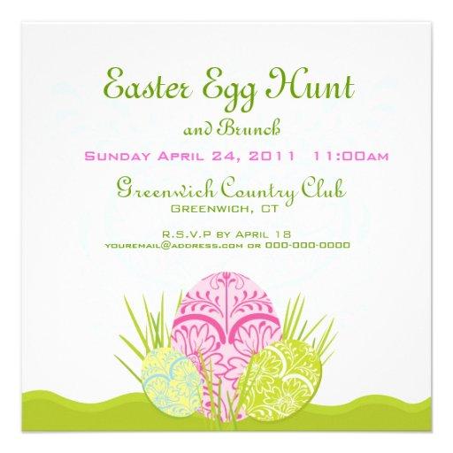 Easter Egg Hunt and Brunch Invite