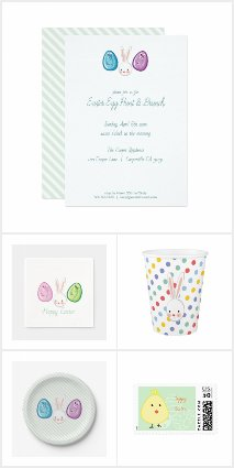 Easter Egg Hunt and Brunch Party Supplies