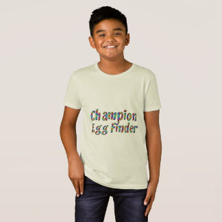 Easter Egg Hunt Champion Egg Finder Funny Colorful T-Shirt