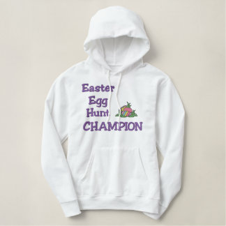 Easter Egg Hunt Champion Embroidered Hoodie
