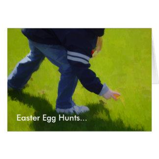 Easter Egg Hunt Easter Card